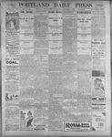 Portland Daily Press: September 7, 1899