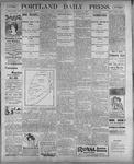 Portland Daily Press: September 9, 1899