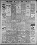 Portland Daily Press: September 11, 1899