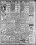 Portland Daily Press: September 12, 1899