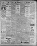 Portland Daily Press: September 14, 1899