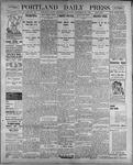 Portland Daily Press: September 20, 1899