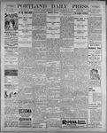 Portland Daily Press: September 21, 1899
