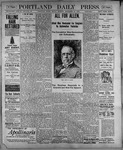 Portland Daily Press: September 29, 1899
