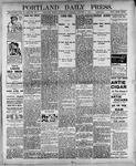 Portland Daily Press: January 3, 1900