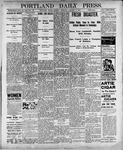 Portland Daily Press: January 8, 1900