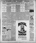 Portland Daily Press: January 10, 1900