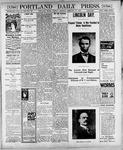Portland Daily Press: February 13, 1900