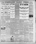 Portland Daily Press: February 28, 1900