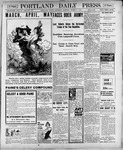 Portland Daily Press: March 3, 1900