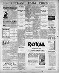 Portland Daily Press: March 9, 1900
