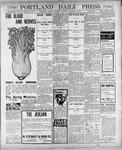 Portland Daily Press: March 10, 1900