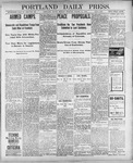 Portland Daily Press: March 12, 1900