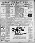 Portland Daily Press: March 14, 1900