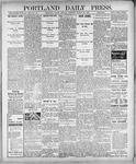 Portland Daily Press: March 26, 1900