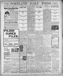 Portland Daily Press: March 27, 1900