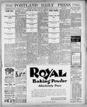 Portland Daily Press: March 28, 1900