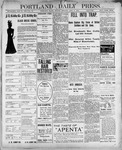 Portland Daily Press: April 2, 1900