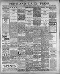 Portland Daily Press: April 30, 1900