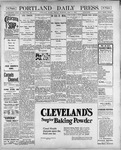 Portland Daily Press: May 4, 1900