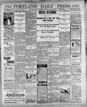 Portland Daily Press: May 8, 1900