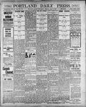 Portland Daily Press: May 9, 1900
