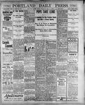 Portland Daily Press: May 11, 1900