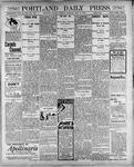 Portland Daily Press: May 15, 1900
