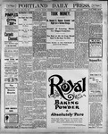 Portland Daily Press: May 16, 1900