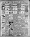 Portland Daily Press: May 17, 1900