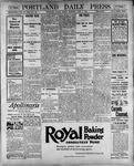 Portland Daily Press: June 1, 1900