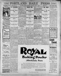 Portland Daily Press: June 7, 1900
