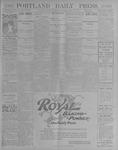 Portland Daily Press: July 12, 1900