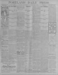 Portland Daily Press: July 17, 1900