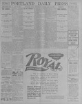 Portland Daily Press: July 18, 1900