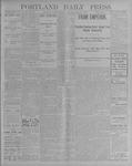 Portland Daily Press: July 23, 1900
