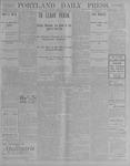 Portland Daily Press: July 24, 1900