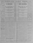 Portland Daily Press: July 27, 1900