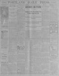 Portland Daily Press: August 4, 1900