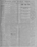 Portland Daily Press: August 10, 1900