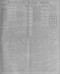 Portland Daily Press: August 15, 1900