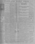 Portland Daily Press: August 30, 1900