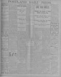 Portland Daily Press: September 3, 1900