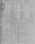 Portland Daily Press: September 4, 1900