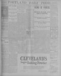 Portland Daily Press: September 6, 1900