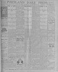 Portland Daily Press: September 13, 1900