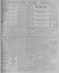 Portland Daily Press: September 28, 1900