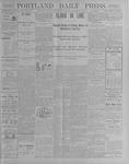Portland Daily Press: October 3, 1900