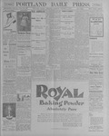 Portland Daily Press: October 4, 1900
