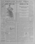 Portland Daily Press: October 6, 1900